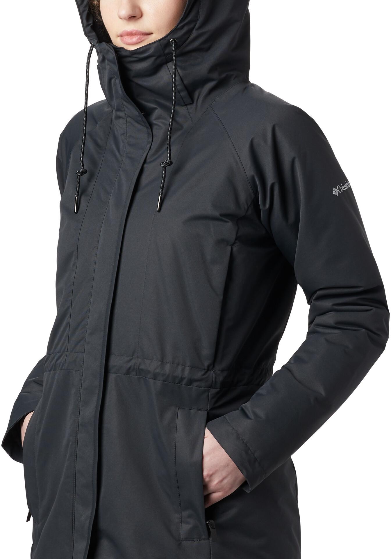 Columbia South Canyon Sherpa Gefütterte Jacke Damen black